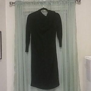 Torrid cable knit black sweater dress 100% cotton